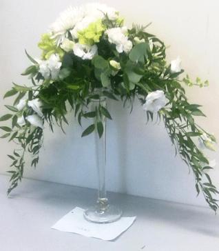 Carnation and chrysanthemum arrangement-min-the-little-flwoer-shop-floral-arrangements-table-flowers
