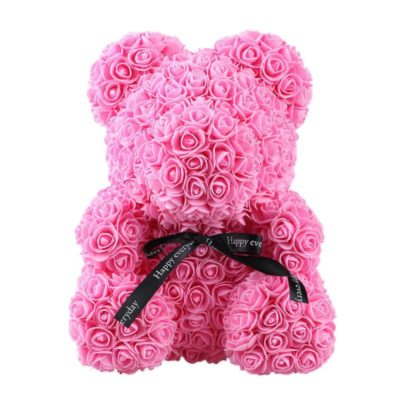 valentines-teddy-bear-flowers-flower-rose-teddy-bear-made-of-flowers-love-teddy-toy-rose-flowers-the-little-flower-shop-PINK