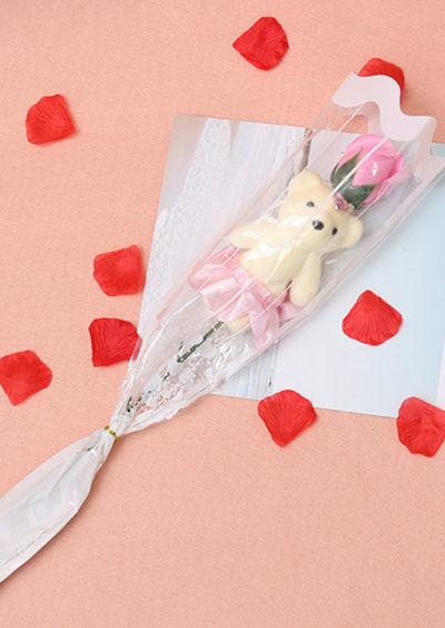 Soap-Rose-flower-teddy-foam-the-little-flower-shop-florist-londonRose-Flower-For-Romantic-Valentines-Day-Creative-Gifts-Mother-s-Day-Artificial-Flower-Bear-Rose-2
